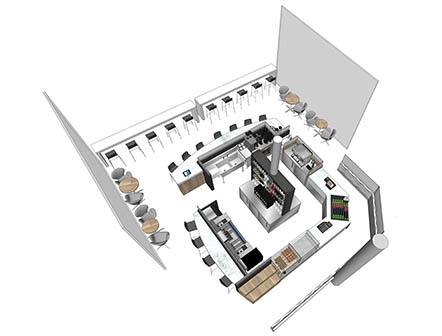 Slide interior